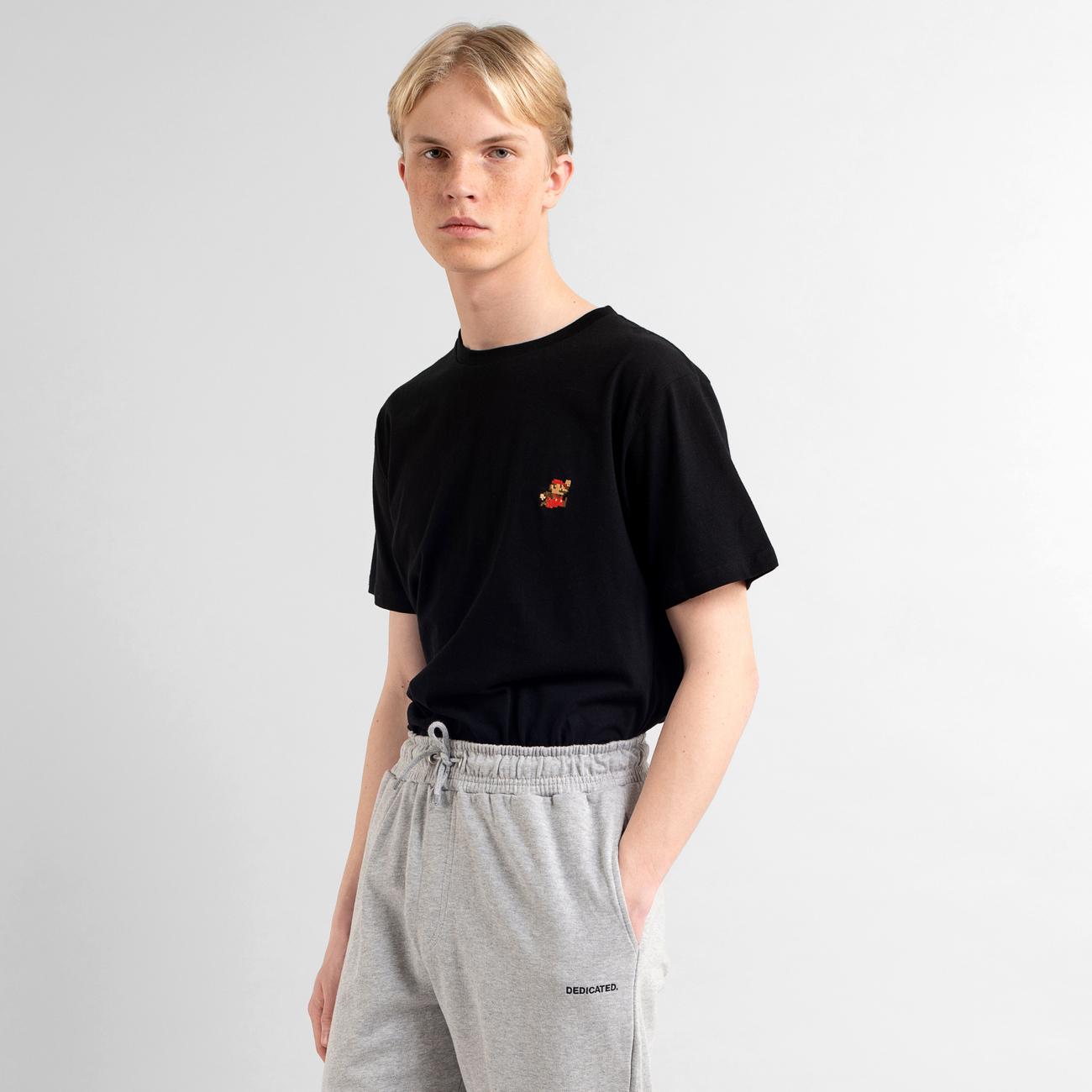 T-shirt Stockholm Super Mario Black