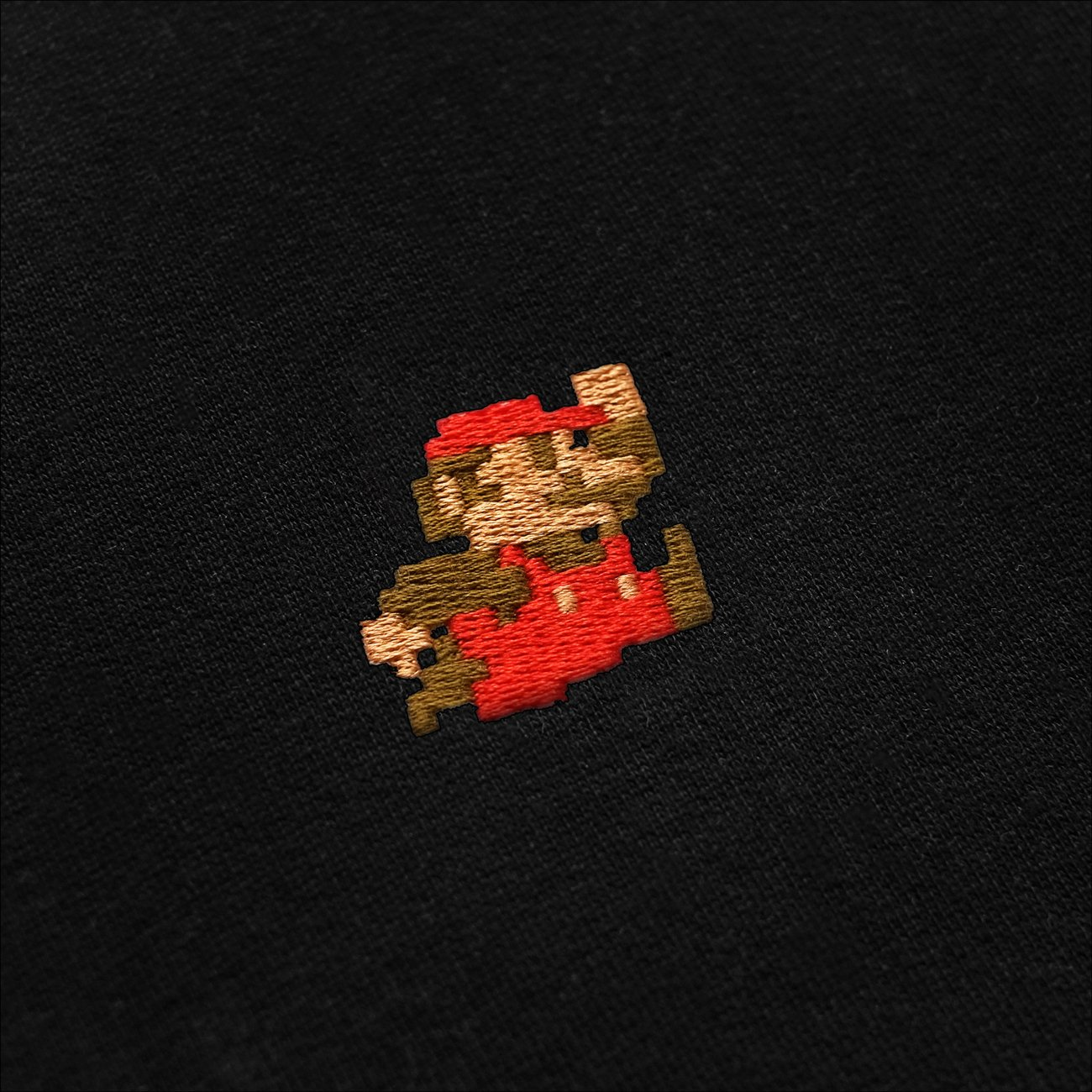 T-shirt Stockholm Super Mario Black