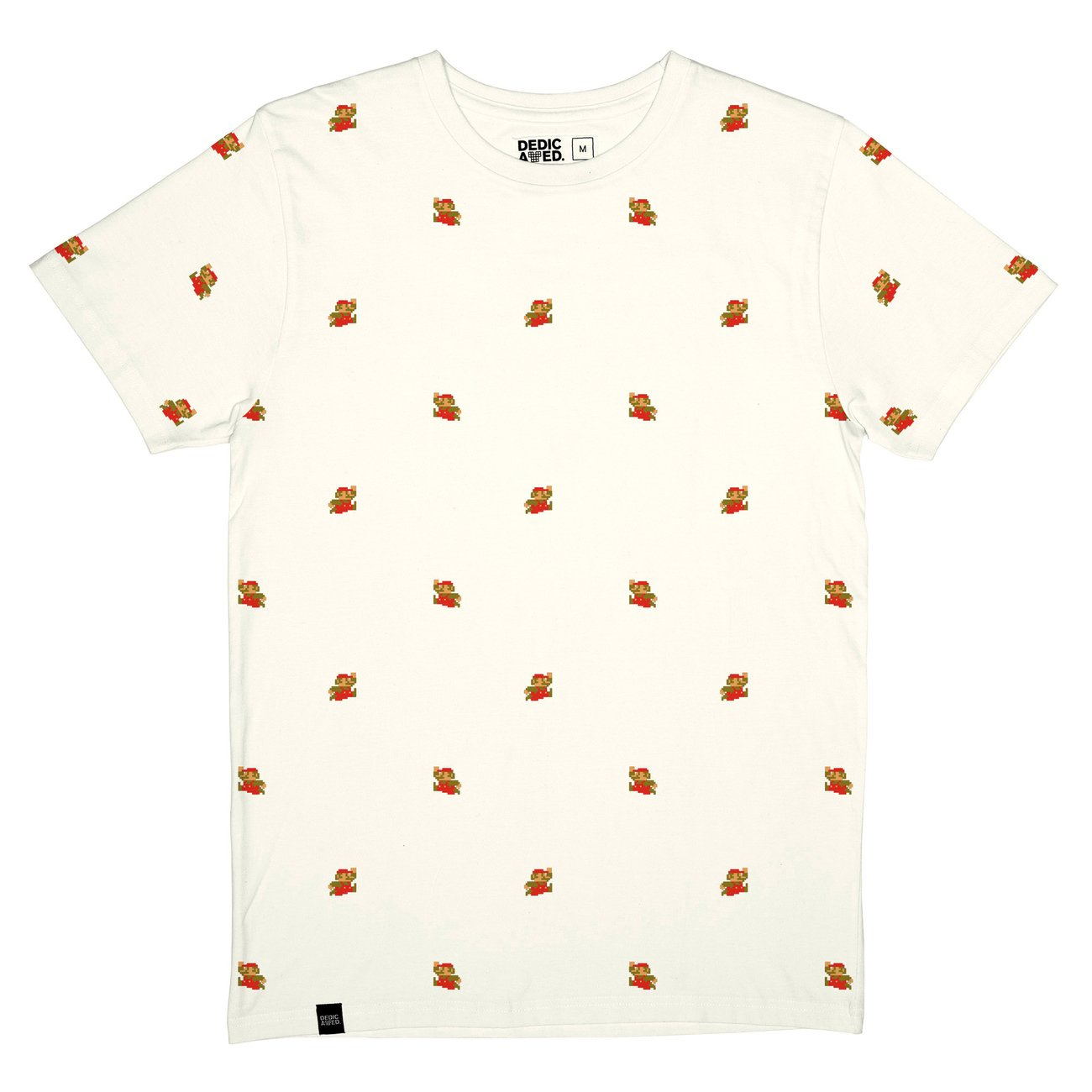 T-shirt Stockholm Super Mario Pattern Off-White
