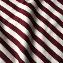 T-shirt Stockholm Stripes Burgundy