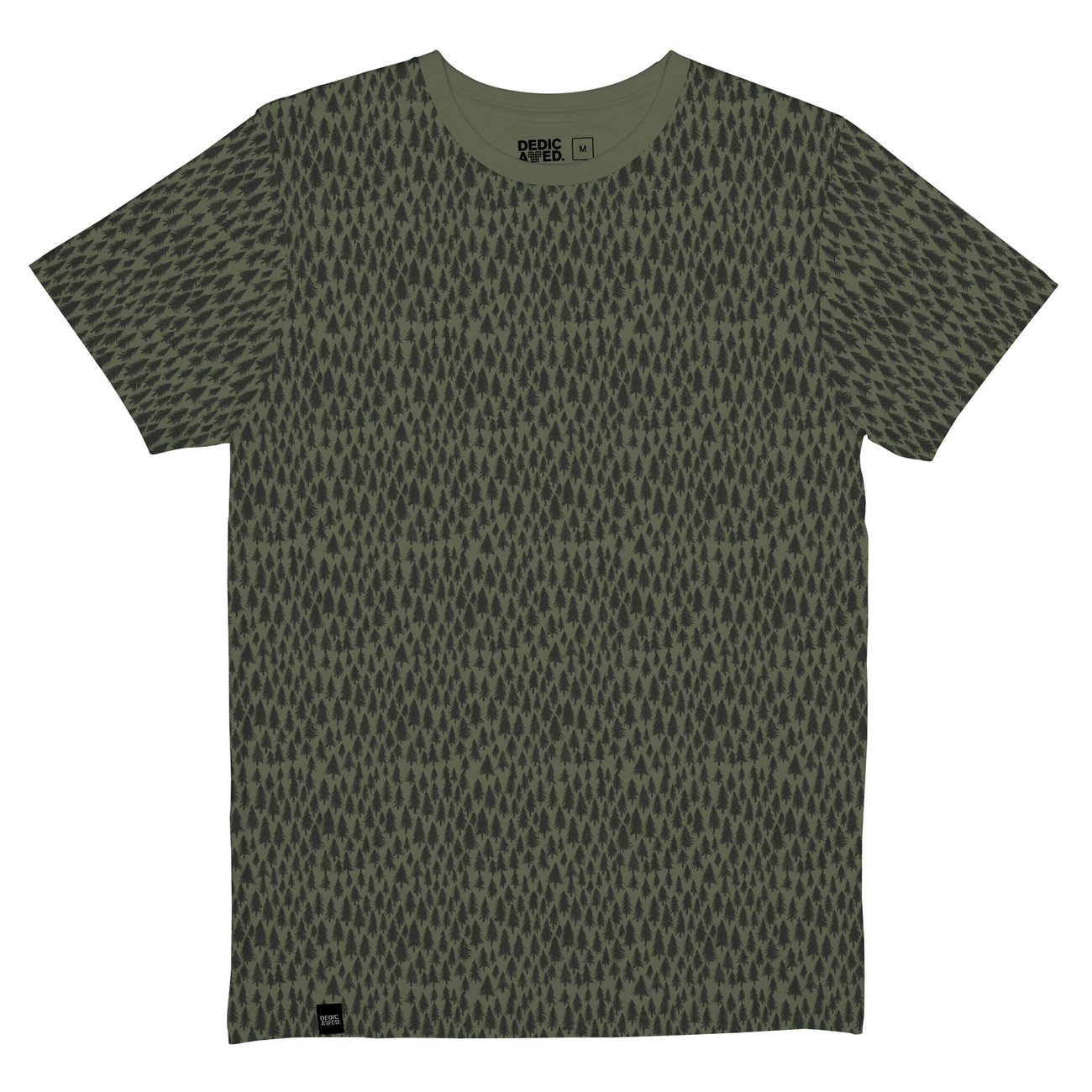 T-shirt Stockholm Trees Leaf Green