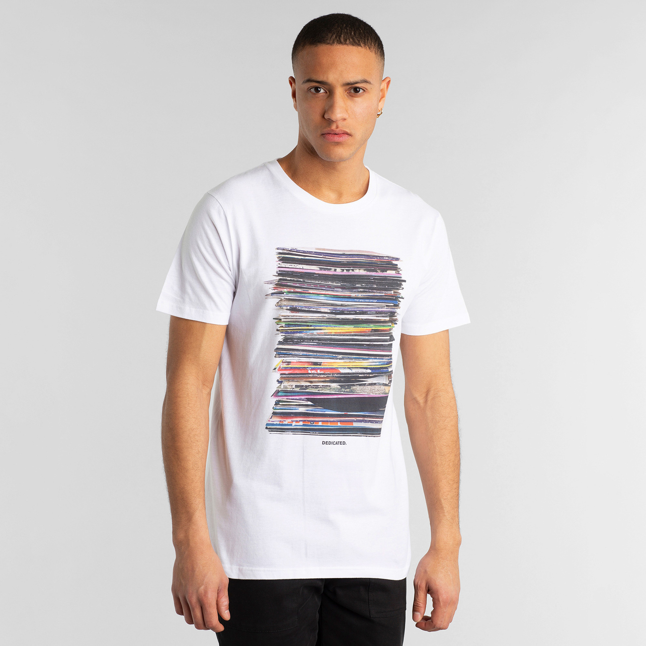 T-shirt Stockholm Vinyl Retro