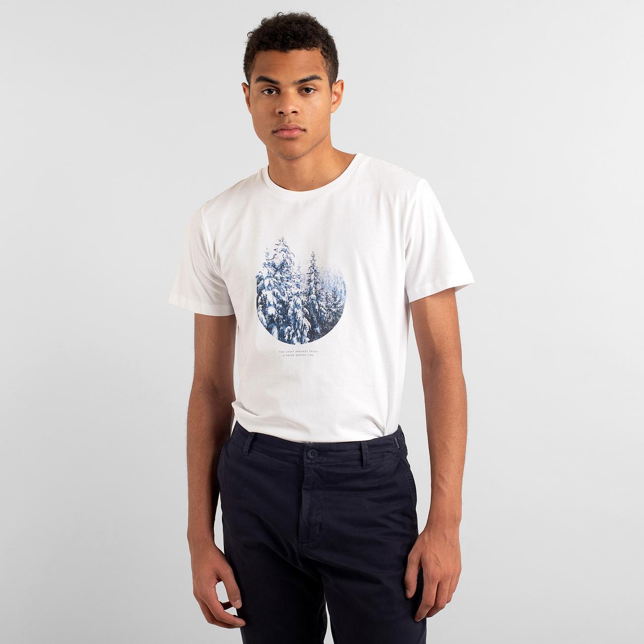 T-shirt Stockholm Wood Photo