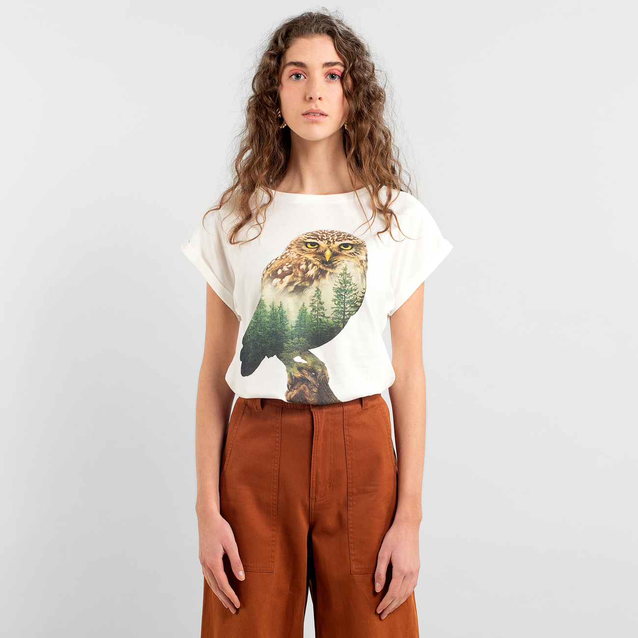 T-shirt Visby Forest Owl