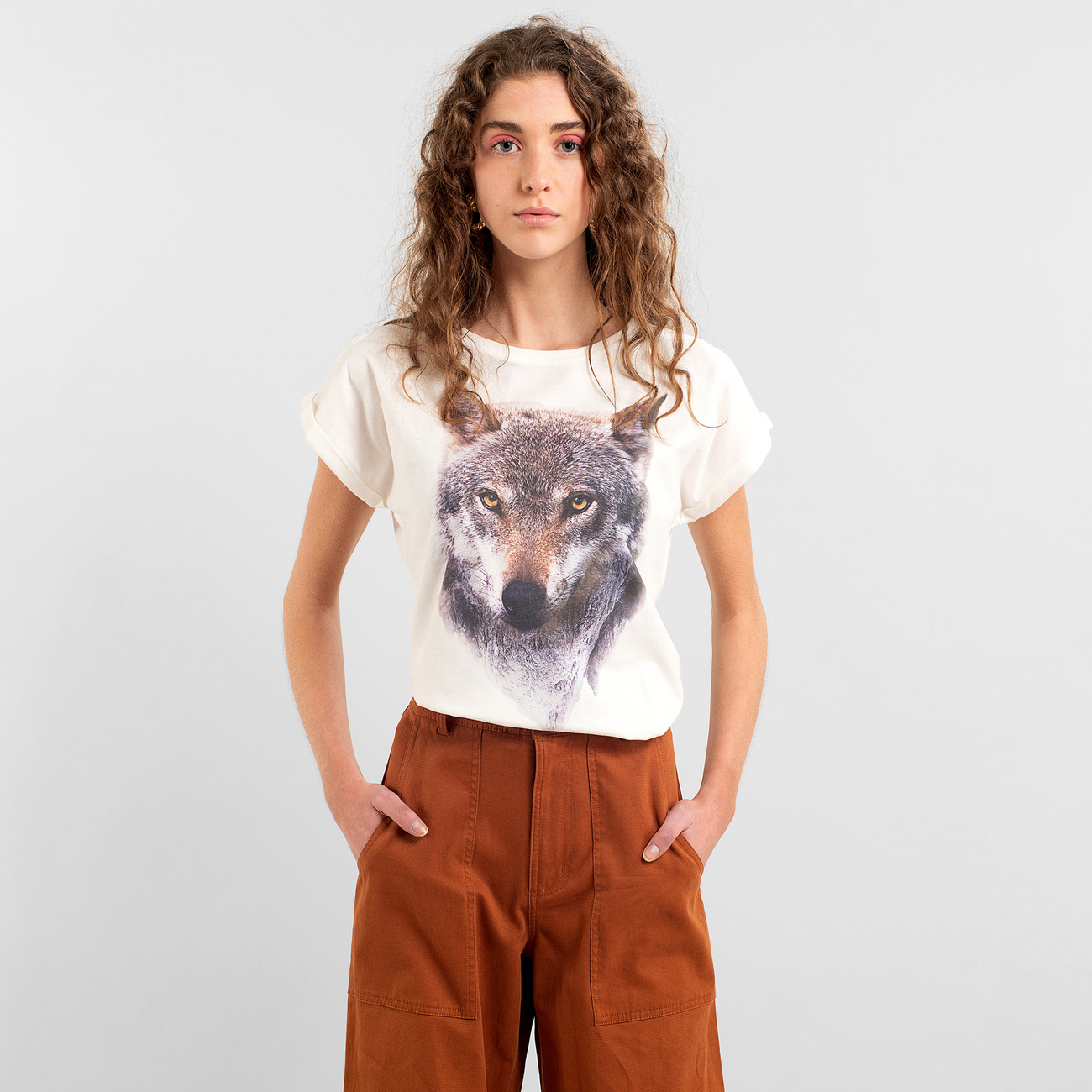 T-shirt Visby Mountain Wolf