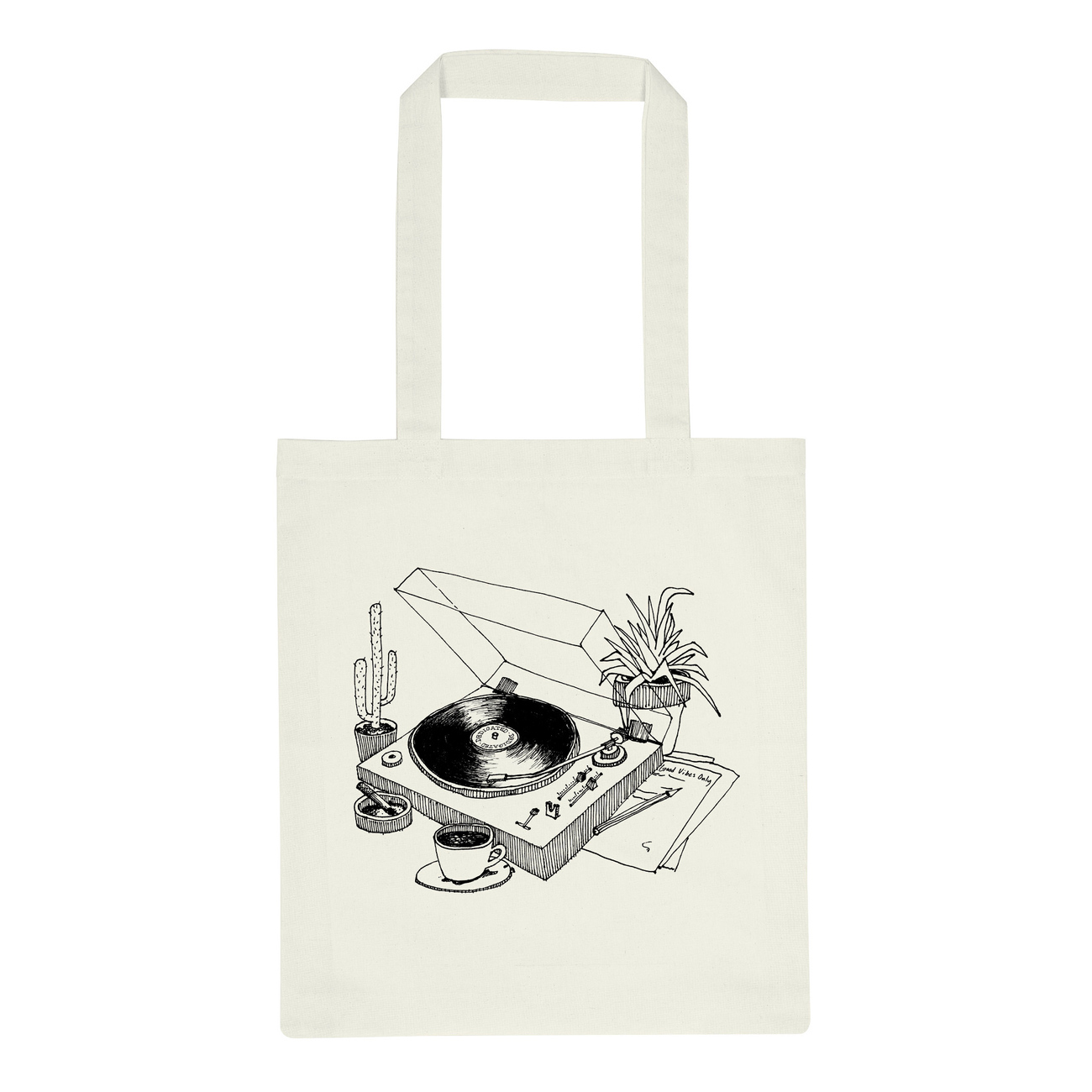Tote Bag Torekov Coffee Vinyl