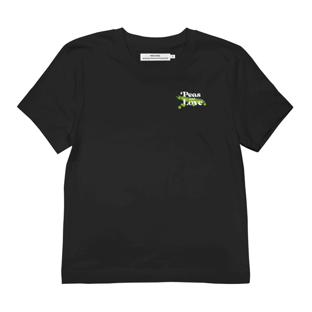T-shirt Mysen Peas and Love Black