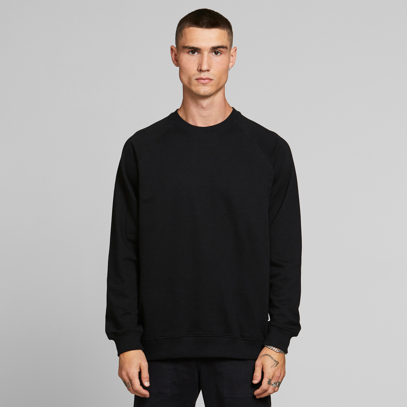 Sweatshirt Malmoe Base Black