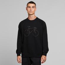 Sweatshirt Malmoe Rainbow Bicycle Black