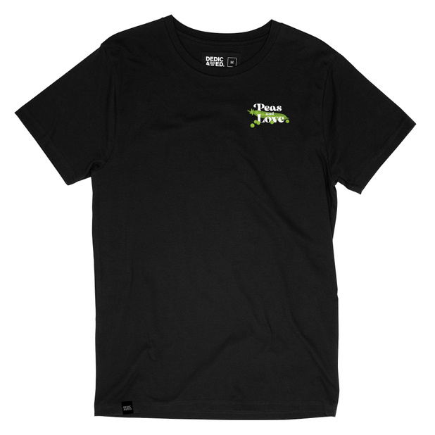 T-shirt Stockholm Peas and Love Black
