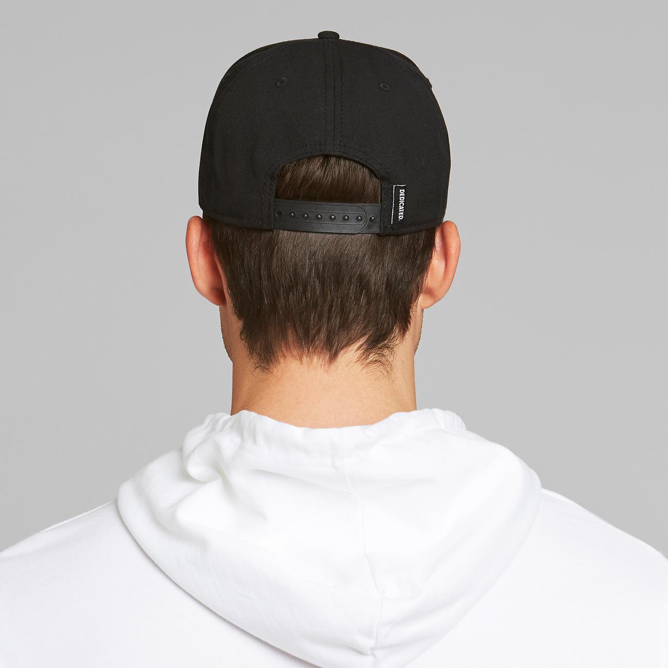 Sport Cap Snoopy Black