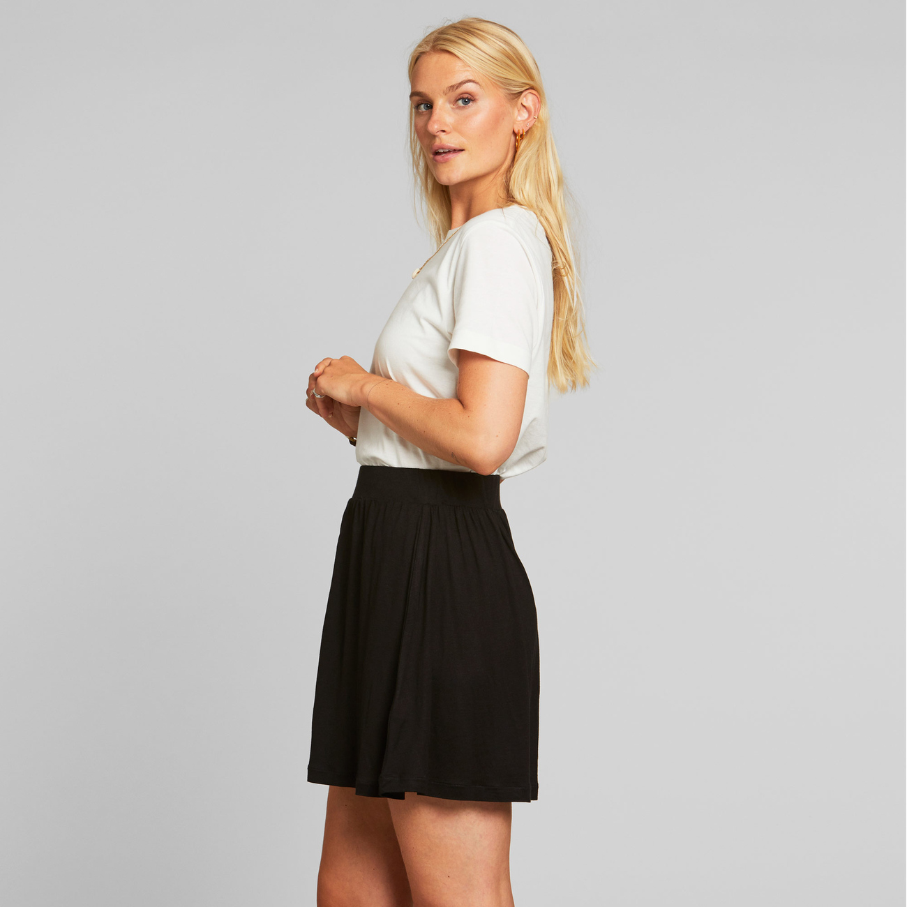 Jersey Skirt Arvika Black