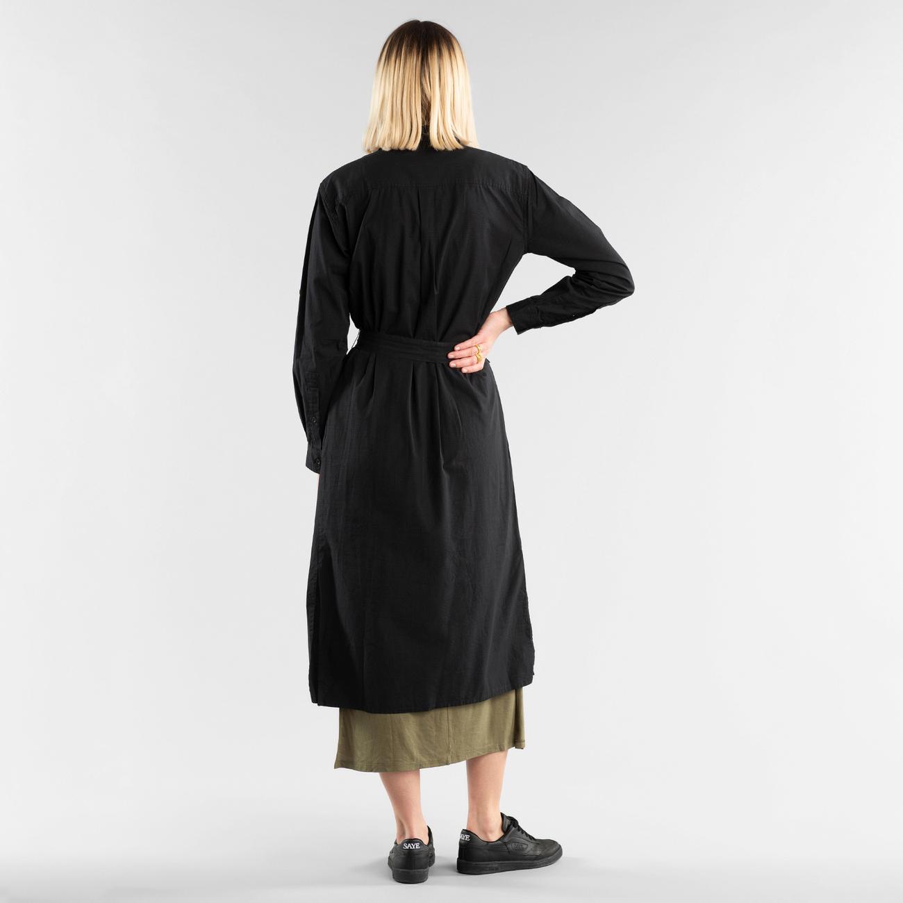 Shirt Dress Trondheim Black
