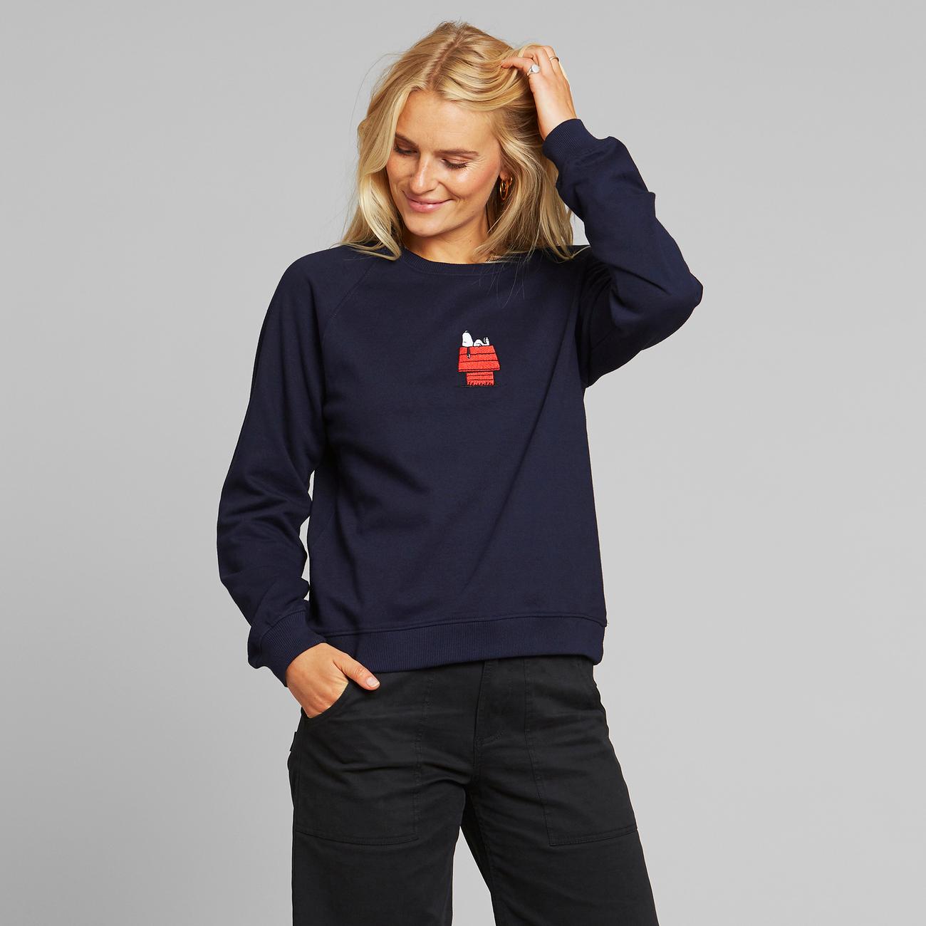 Sweatshirt Ystad Raglan Doghouse Navy