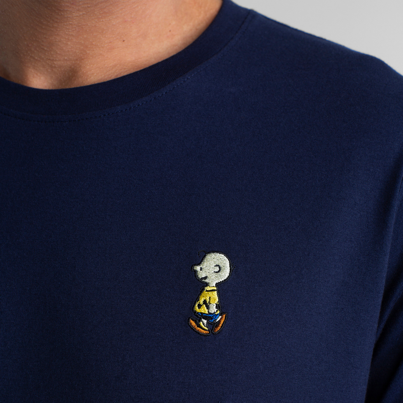 T-shirt Stockholm Charlie Brown Navy
