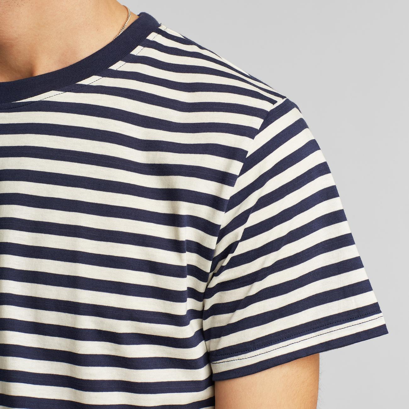 T-shirt Stockholm Stripes Navy