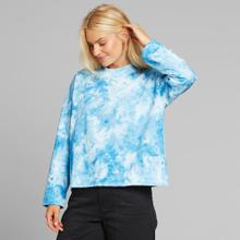 Sweatshirt Lerdala Tie Dye Blue