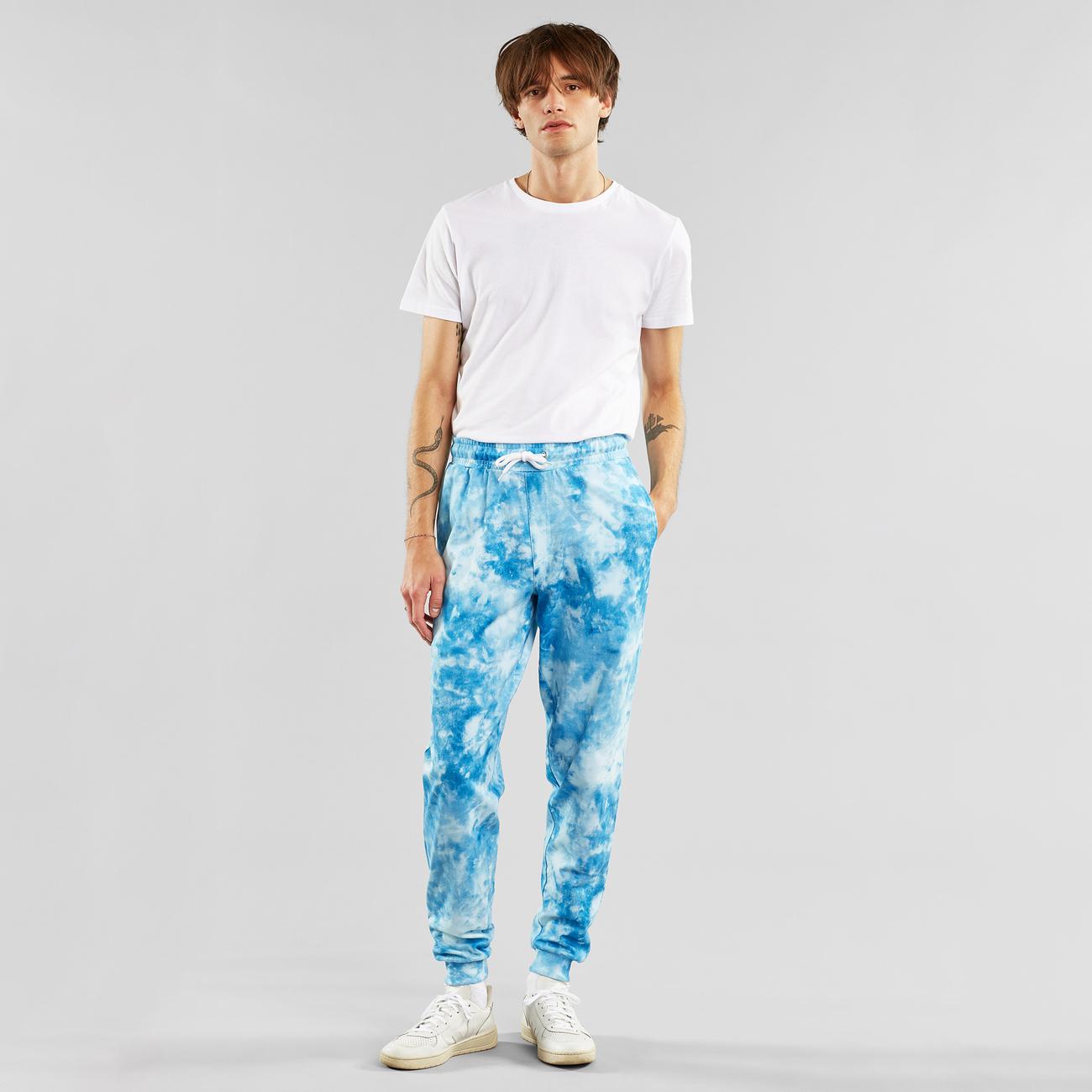 Joggers Lund Tie Dye Blue