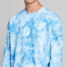 Sweatshirt Malmoe Tie Dye Blue