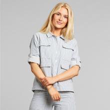 Shirt Lima Thin Stripe Blue