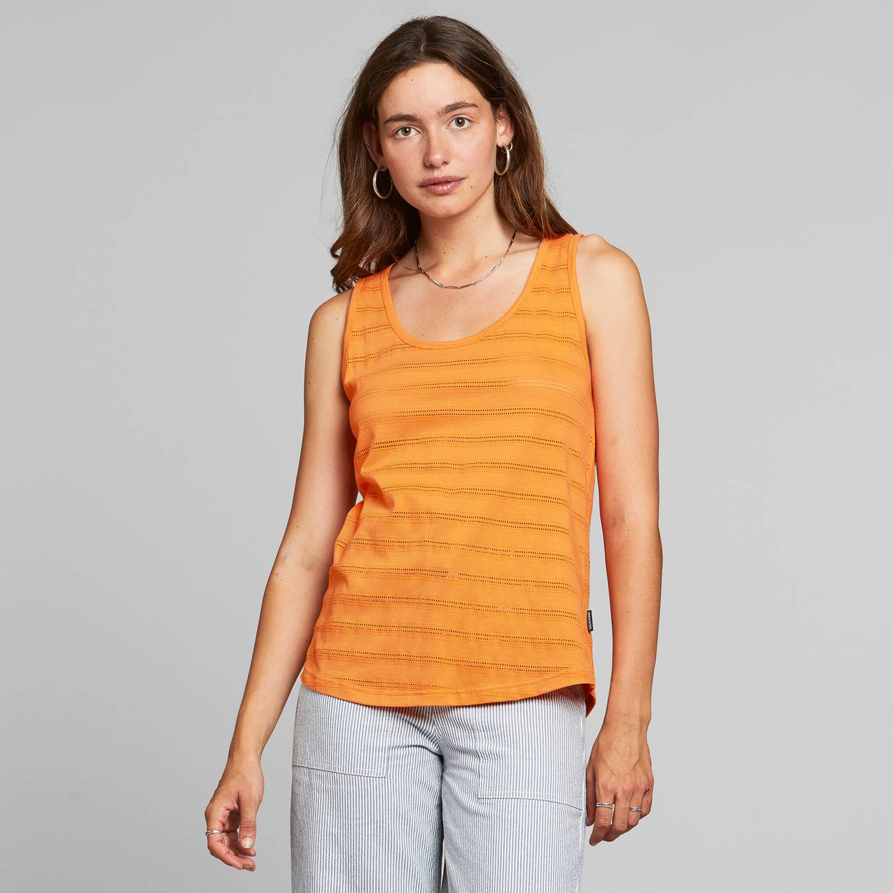 Top Nora Lace Orange