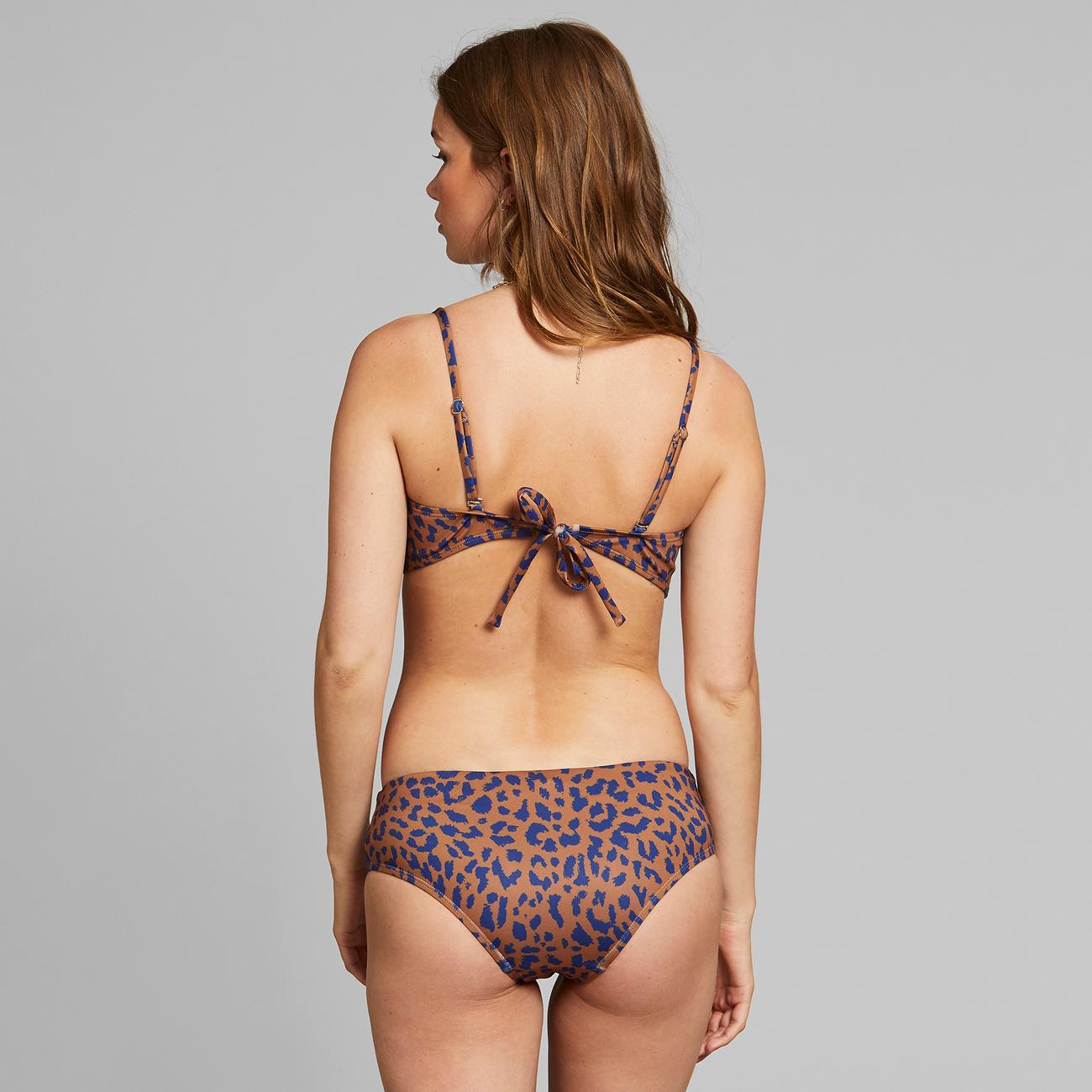 Bikini Bottoms Lau Leopard Light Brown