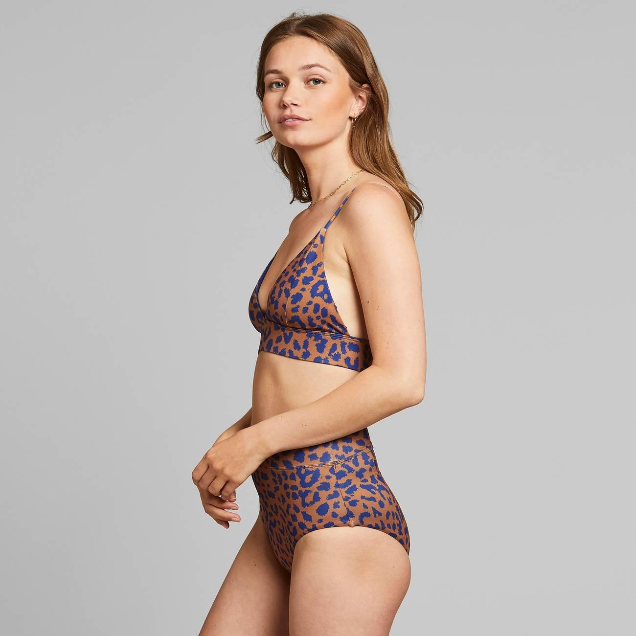 Bikini Pants Slite Leopard