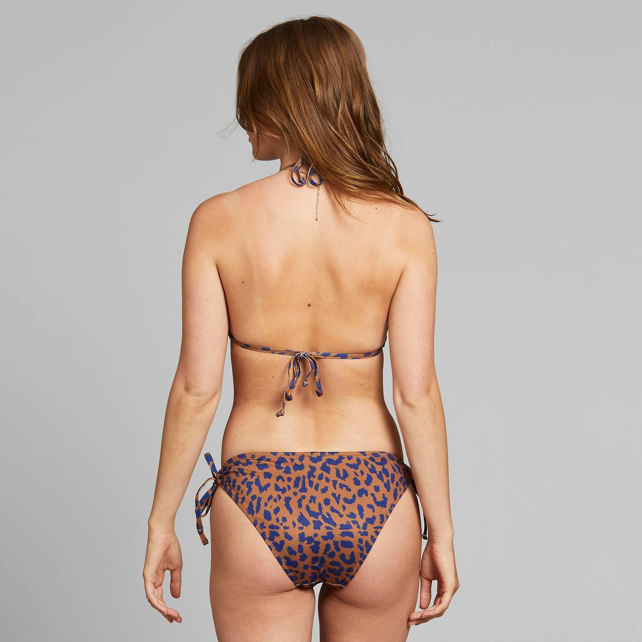 Bikini Top Sandnes Leopard Light Brown