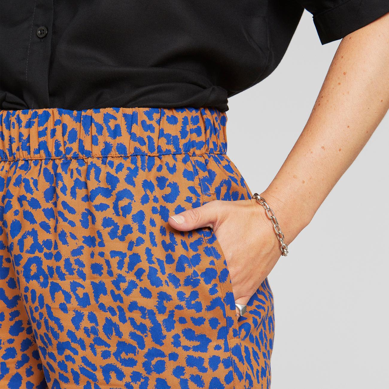 Shorts Sandvika Leopard Light Brown