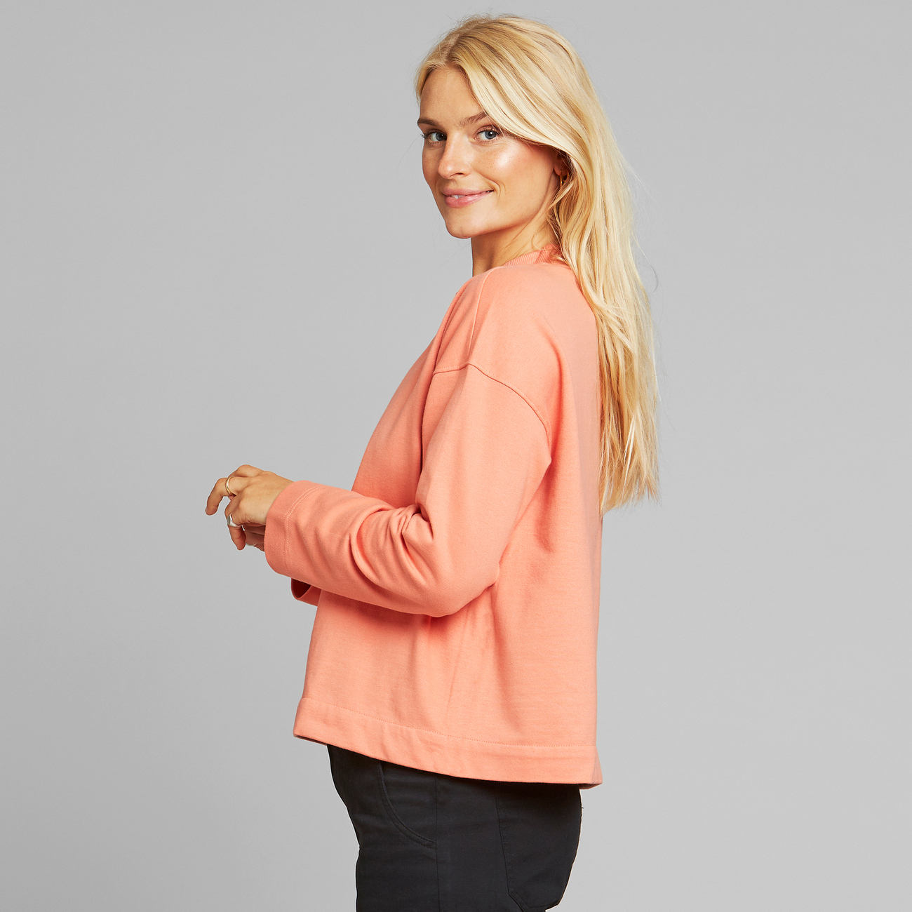 Sweatshirt Lerdala Coral
