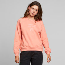 Sweatshirt Ystad Raglan Local Planet Coral