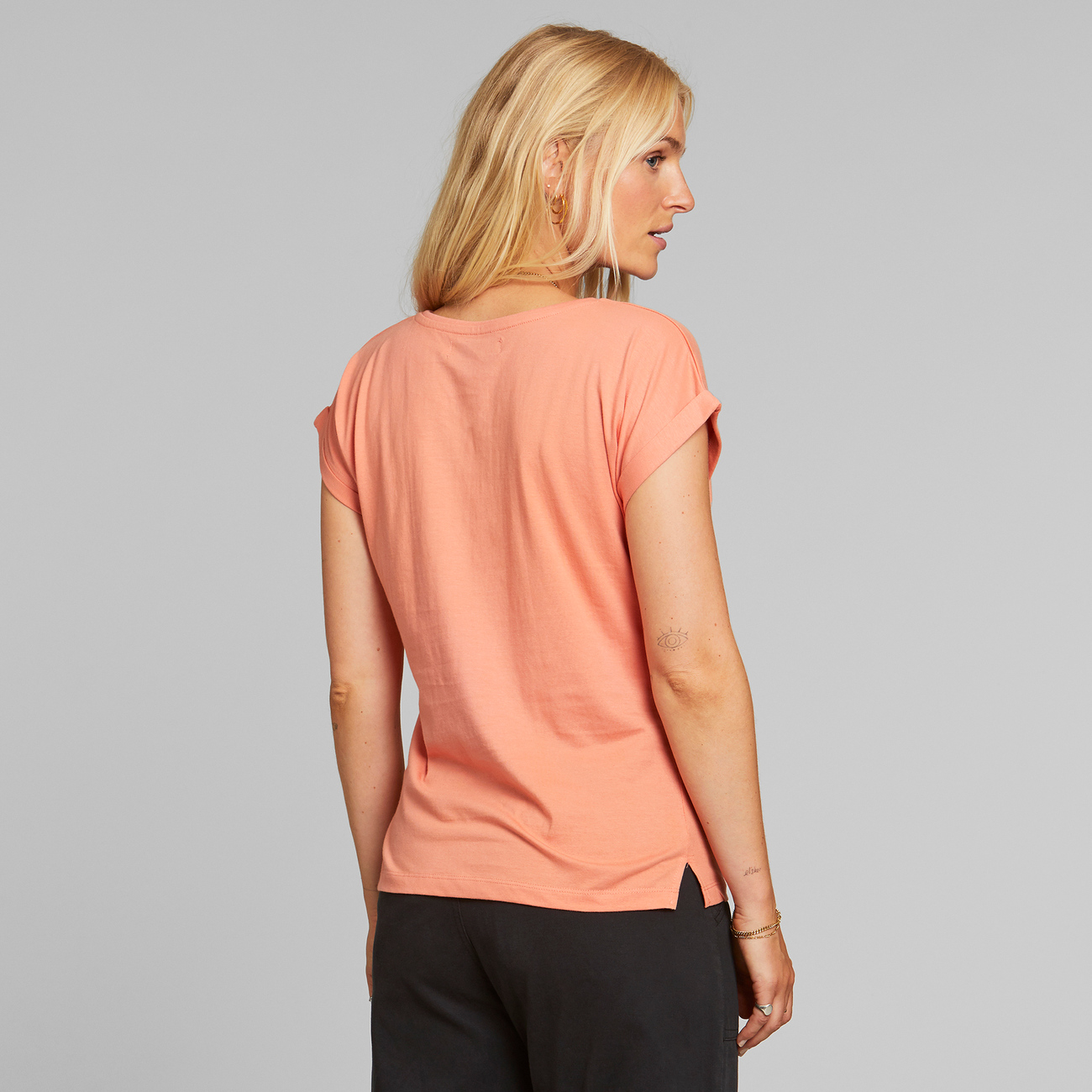 T-shirt Visby Happiness Coral