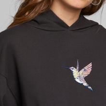 Hoodie Sundborn Hummingbird Charcoal