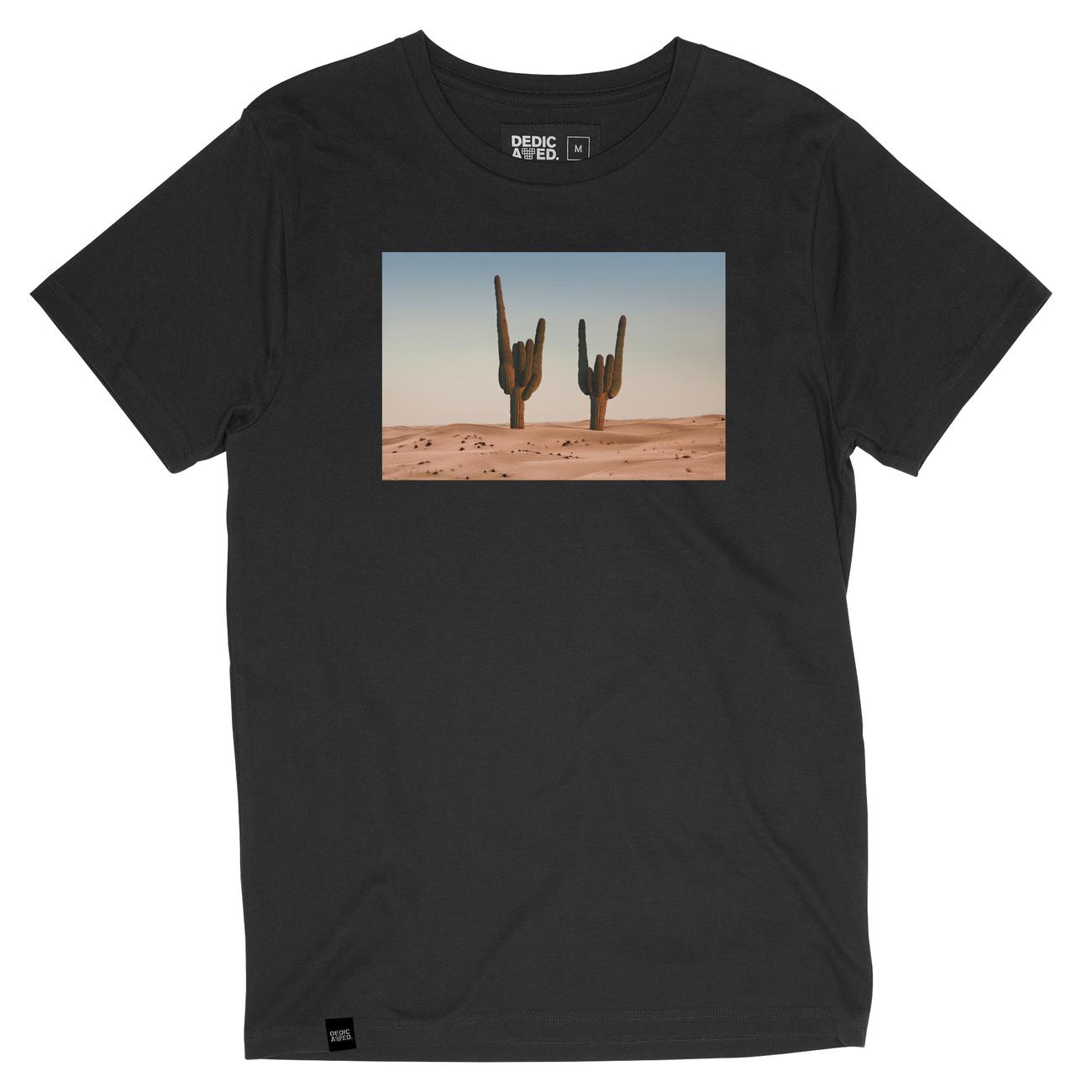 T-shirt Stockholm Cactus Sign Charcoal