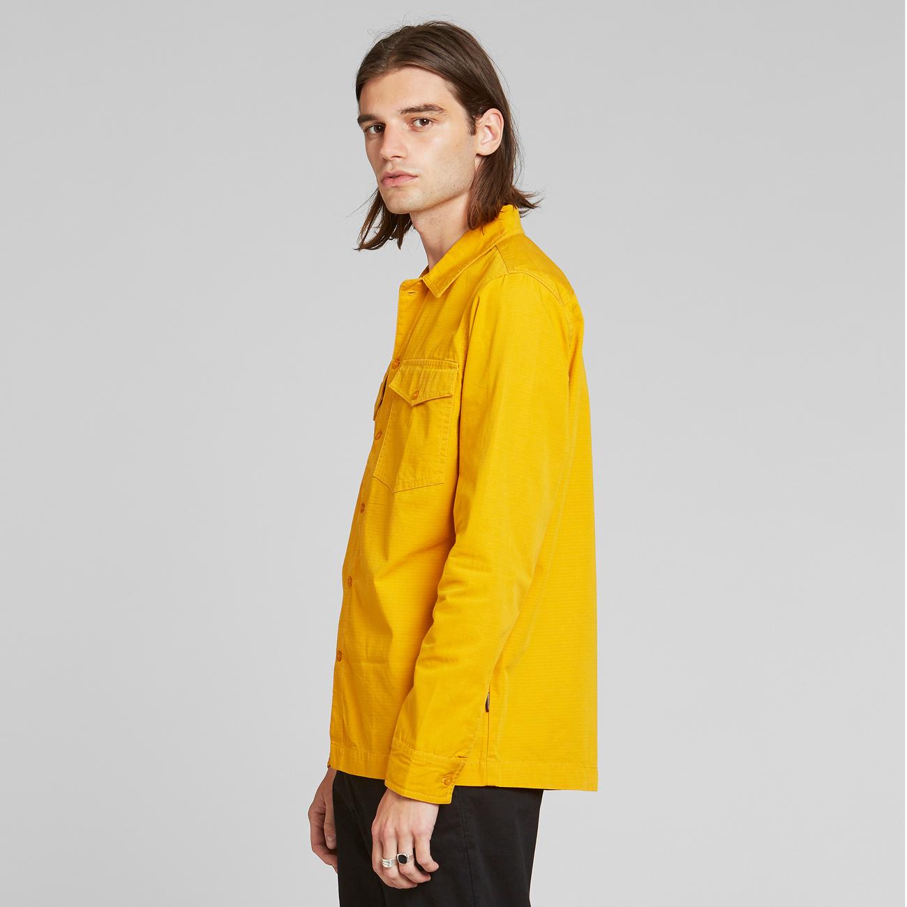 Shirt Edsbyn Golden Yellow