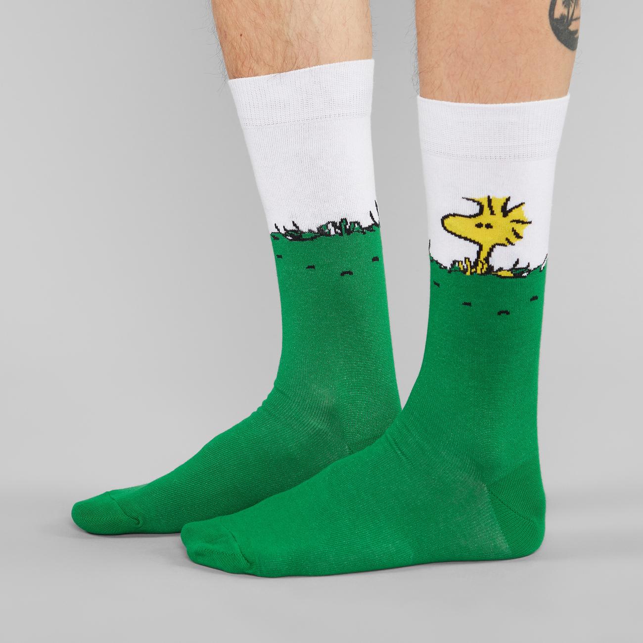 Socks Sigtuna Woodstock Green