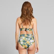 Bikini Top Hemse Seventies Floral Green