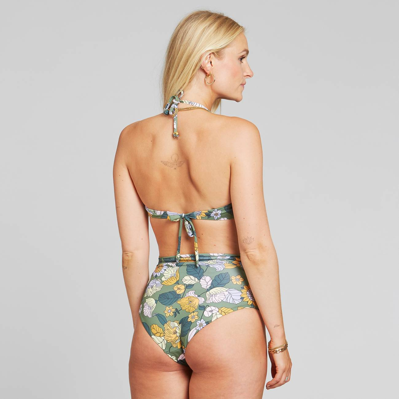Bikini Top Kovik Seventies Floral Green