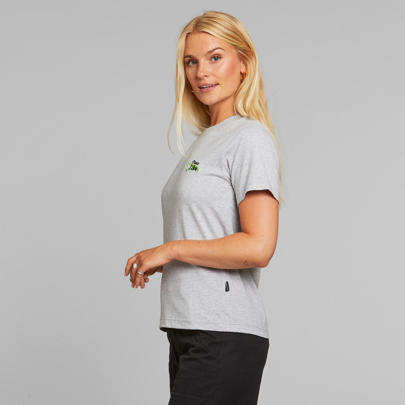 T-shirt Mysen Peas and Love Grey Melange