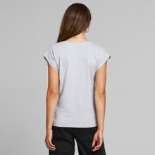 T-shirt Visby Local Planet Grey Melange