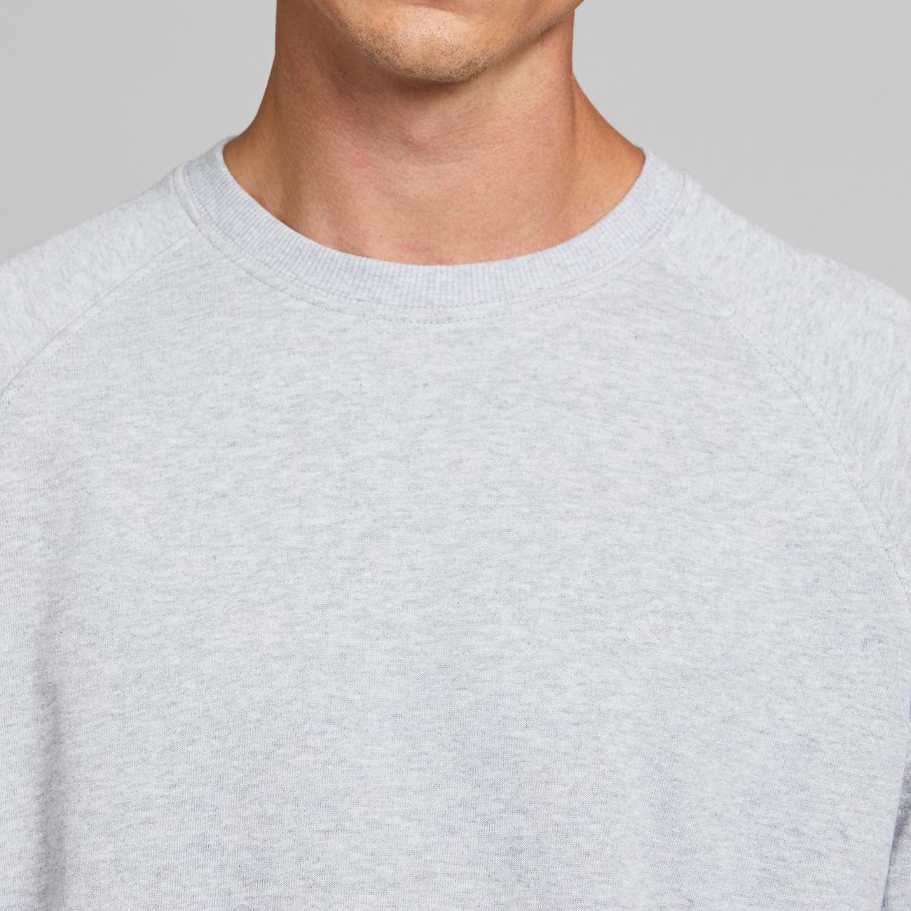 Sweatshirt Malmoe Base Grey Melange