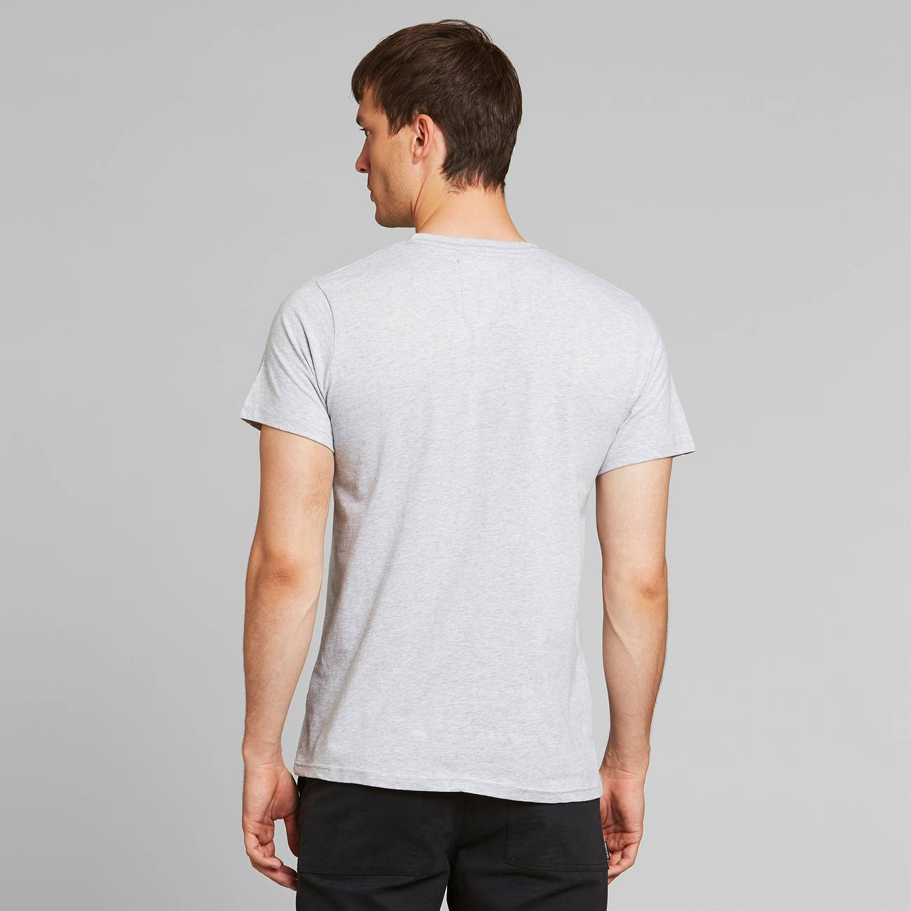 T-shirt Stockholm Peas and Love Grey Melange