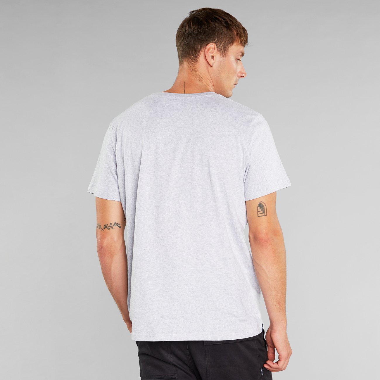 T-shirt Stockholm Snoopy Grey Melange