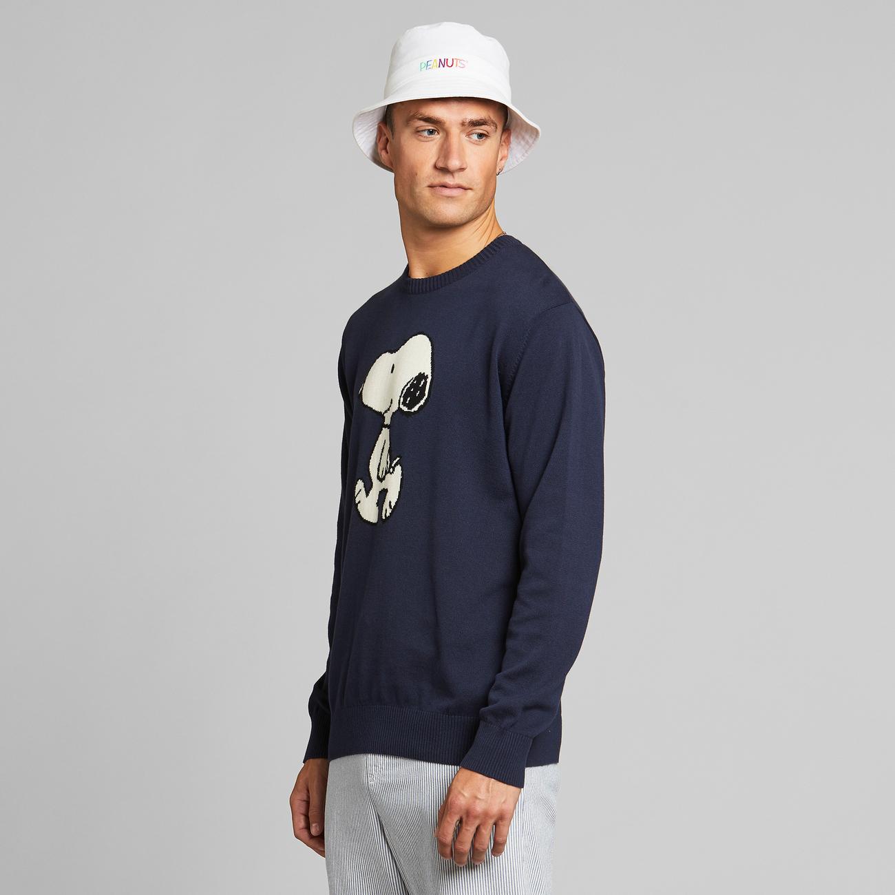 Sweater Mora Snoopy Navy
