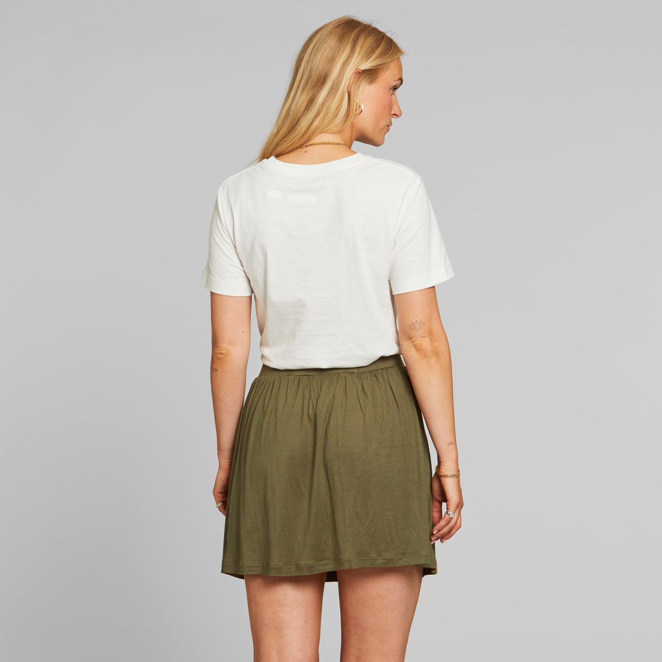 Jersey Skirt Arvika Leaf Green