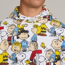 Hoodie Falun Peanuts AOP Multi Color