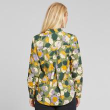Shirt Dorothea Seventies Floral Green