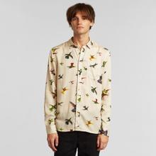 Shirt Varberg Floral Hummingbirds Multi Color