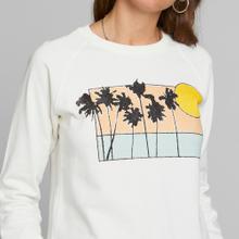 Sweatshirt Ystad Raglan Sunset Palms