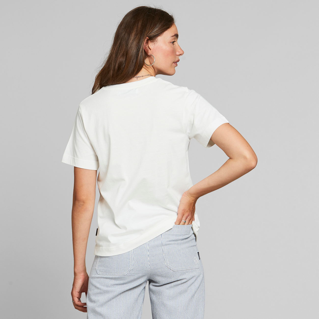T-shirt Mysen Rays and Waves Off-White